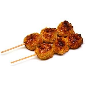 Brochettes de boulette de poulet