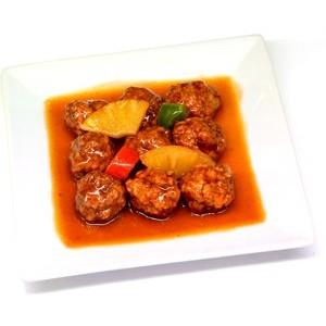 Boulettes de poulet à la sauce aigre douce